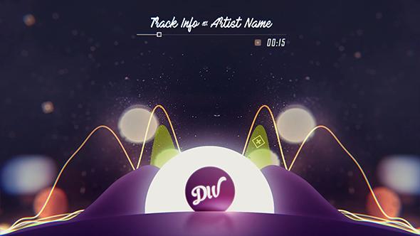 دانلود پروژه افترافکت ویژوالایزر موزیک - TrapWix Waves Music Visualizer