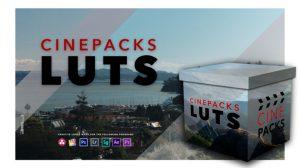 پریست رنگ سینمایی CinePacks LUTS