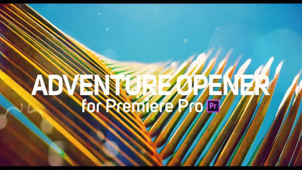 پروژه پریمیر افتتاحیه با ریتم سریع Adventure Opener