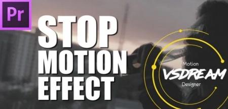 دانلود پریست پریمیر Stop Motion Look V2