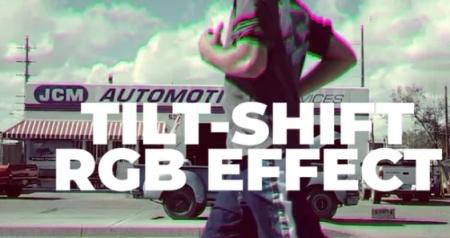 دانلود پریست پریمیر Tilt-Shift RGB Effect