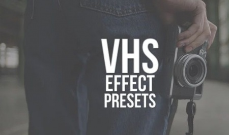 دانلود پریست پریمیر VHS Effect