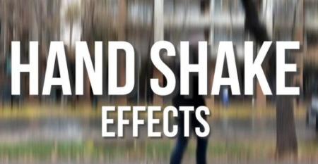 دانلود پریست پریمیر افکت لرزشی دست Hand Shake