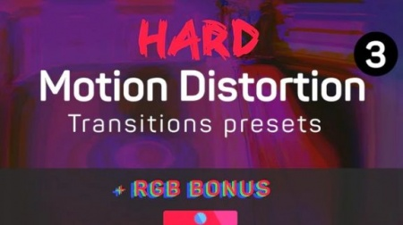 دانلود پریست ترانزیشن پریمیر Hard Motion Distortion