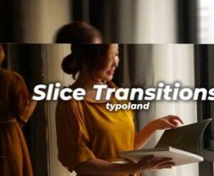 ترانزیشن آماده پریمیر Slice