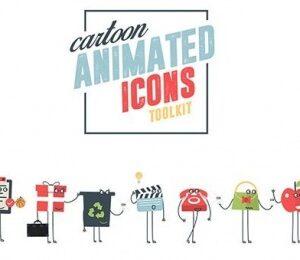 پروژه افتر افکت موشن گرافیک ابزار کارتونی