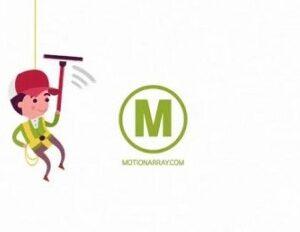 پروژه افتر افکت لوگو موشن گرافیک Washer Logo